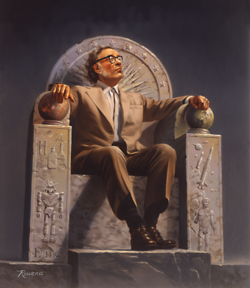 250px-Isaac_Asimov_on_Throne